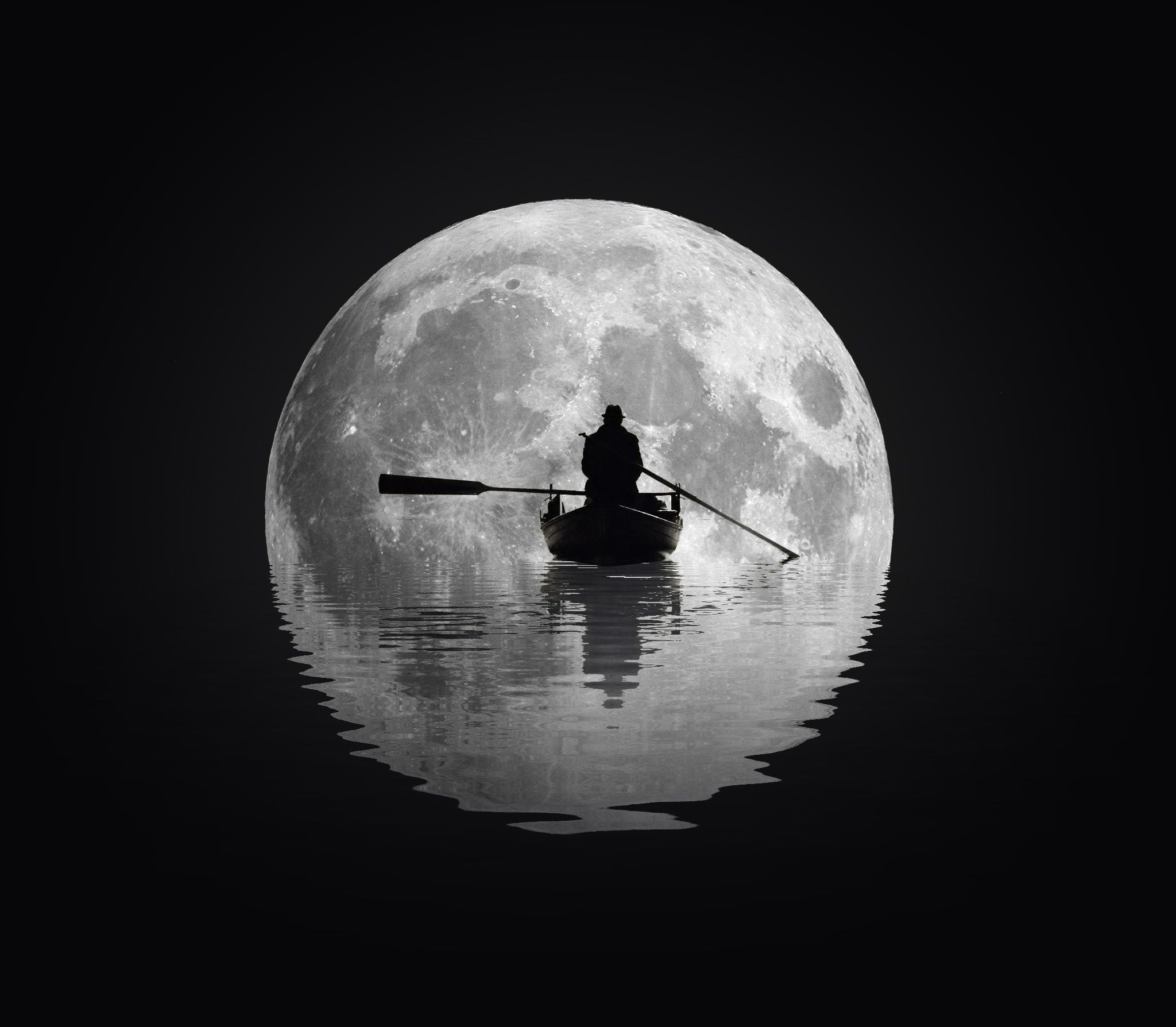 Image result for moon black and white images