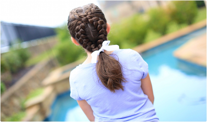 Girls Hairstyles Dutch Loop Braid  Cute Girls Hairstyles  Hair  Pinterest  Girl