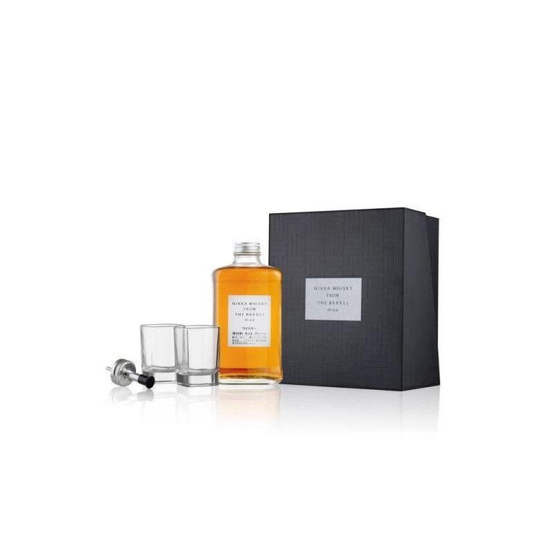 Nikka From The Barrel - Special Edition - Blended Malt Whisky - 51,4% - 50 cl - Coffret avec 2 verres + bec verseur