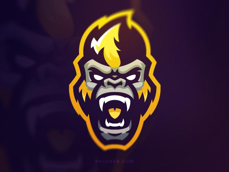 Gorillaz Logo Inspiration Graphics Monkey Logo Design Monkey Logo