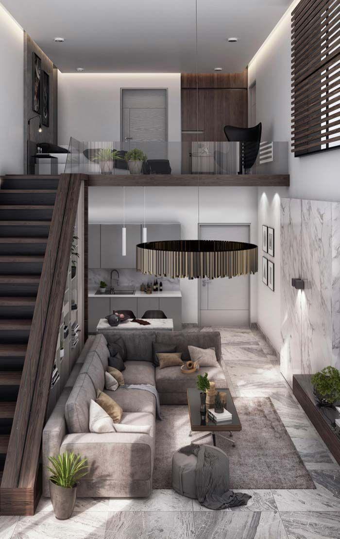 Image result for interior design lofts and tiny homes for Casa moderna design
