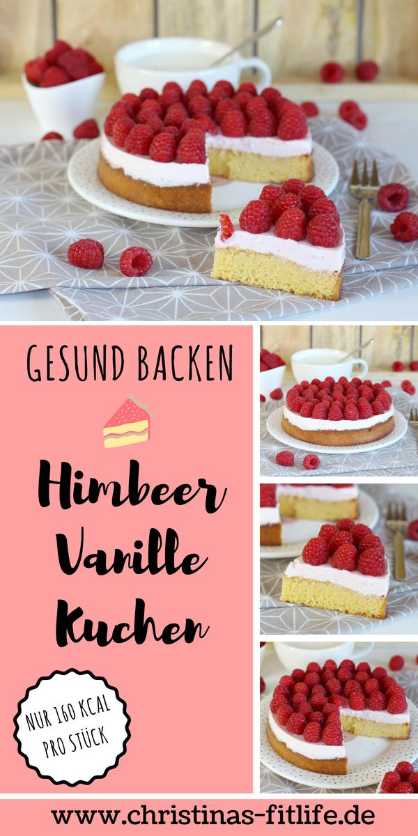 ᐅ Gesunder Himbeer Vanille Kuchen I Rezepte By Christina Gesunde