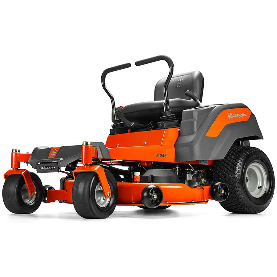Husqvarna Z246 20 Hp V Twin Dual Hydrostatic 46 In Zero Turn Radius Lawn Mower Zero Turn Lawn Mowers Lawn Mower Best Zero Turn Mower