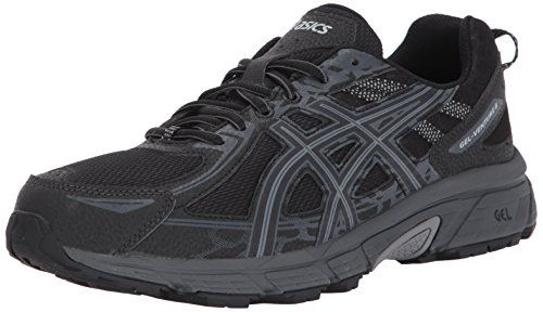 ASICS Mens Gel-Venture 6 Running Shoe, Black/Phantom/Mid