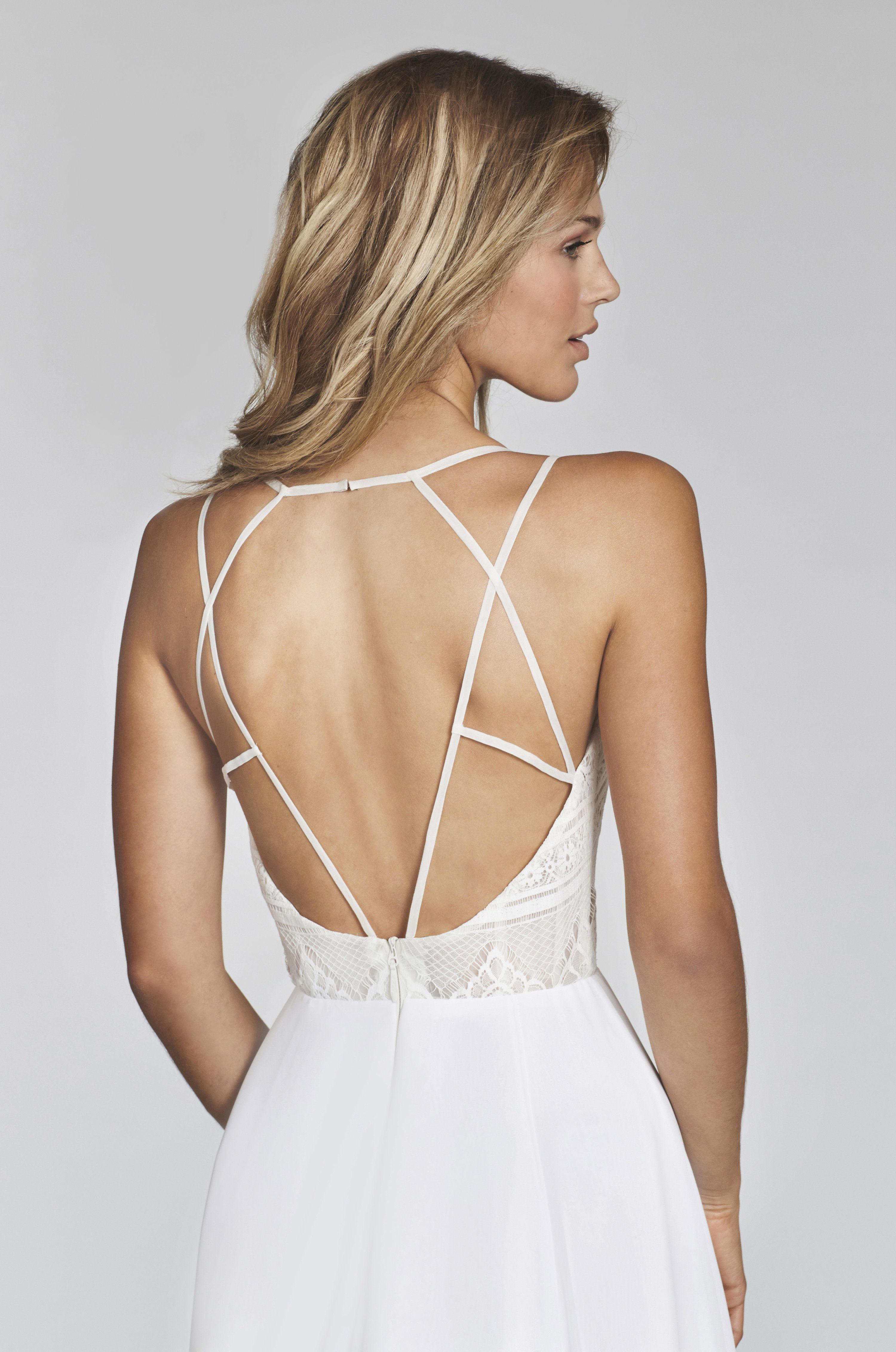 Back detail wedding dress  Bridal Gowns and Wedding Dresses by JLM Couture  Style  Bunny