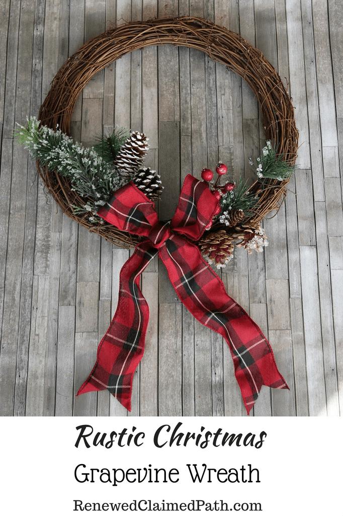 15+ Grapevine christmas wreath ideas info