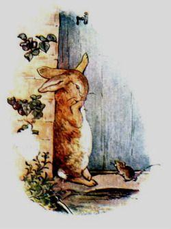 Peter Rabbit Cryingby Beatrix Potter
