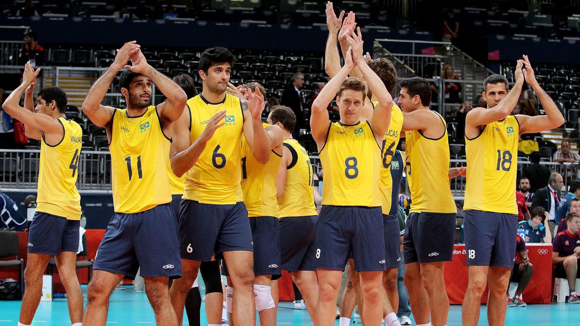 Brasileiros Em Londres 2º Dia Brazil Volleyball Team Volleyball Team Nbc Olympics