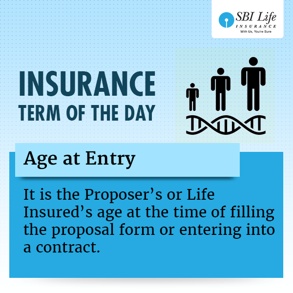 Insurance Term Of The Day Age At Entry Day Term Insurance