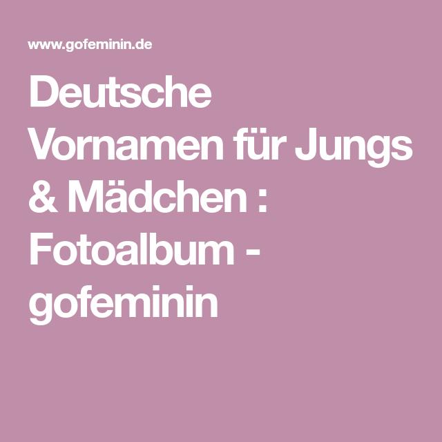 Echte Klassiker 150 Deutsche Vornamen Für Jungs Mädchen Baby Baby