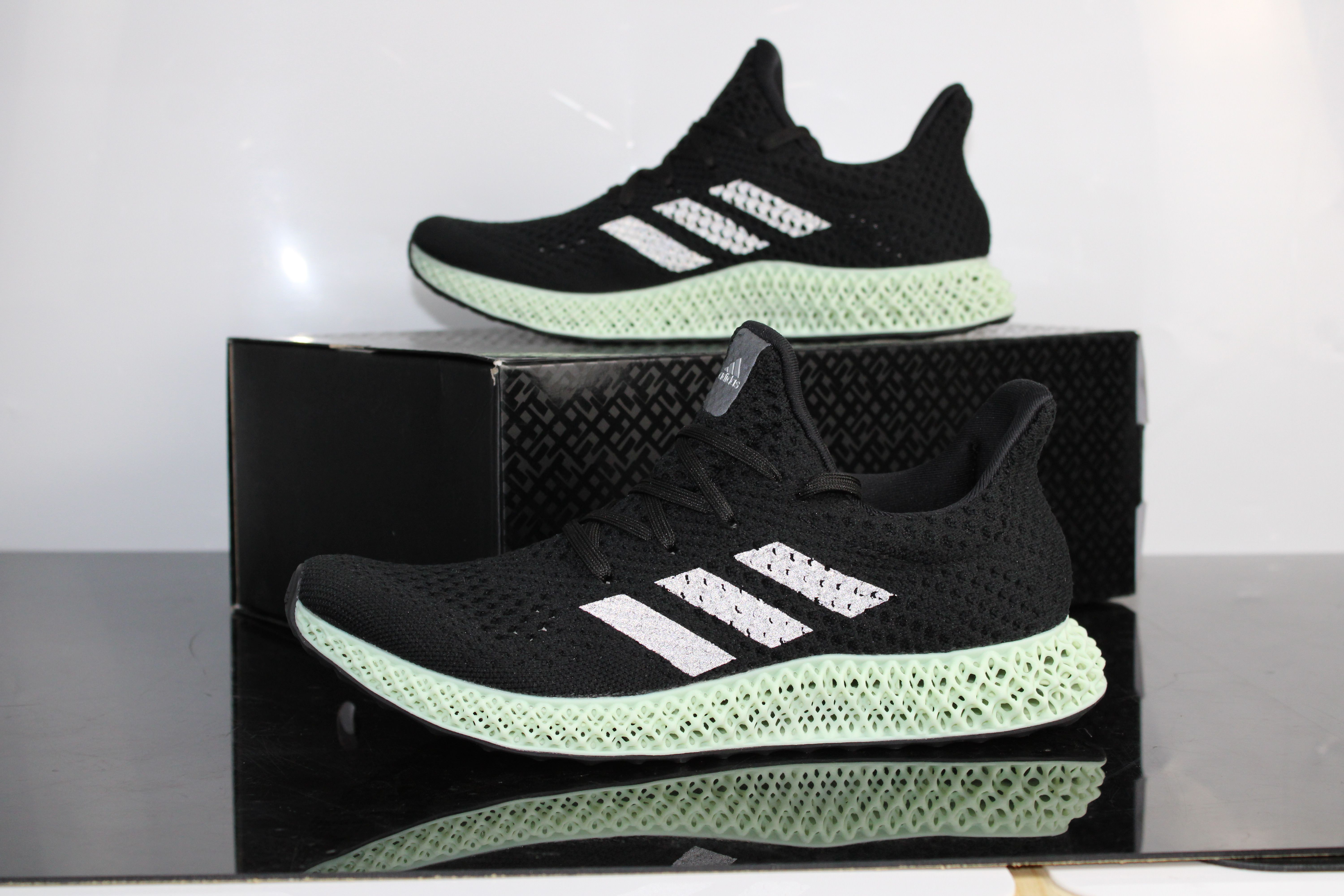 adidas futurecraft 4d grün