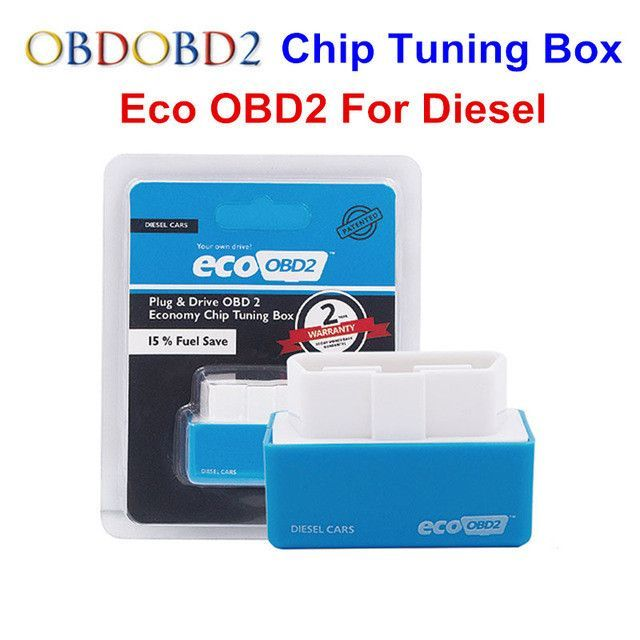 Nitro OBD2 Eco Fuel Saving Tuning Box OBD Plug Drive for Diesel//Gasoline Car Sur