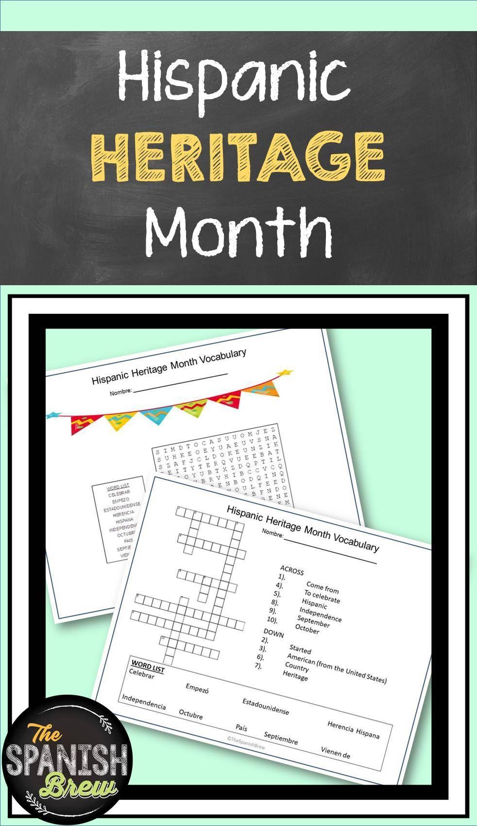 Hispanic Heritage Month Task Cards Worksheets Assessments Spanish Students Hispanic Heritage Month Heritage Month [ 1700 x 982 Pixel ]
