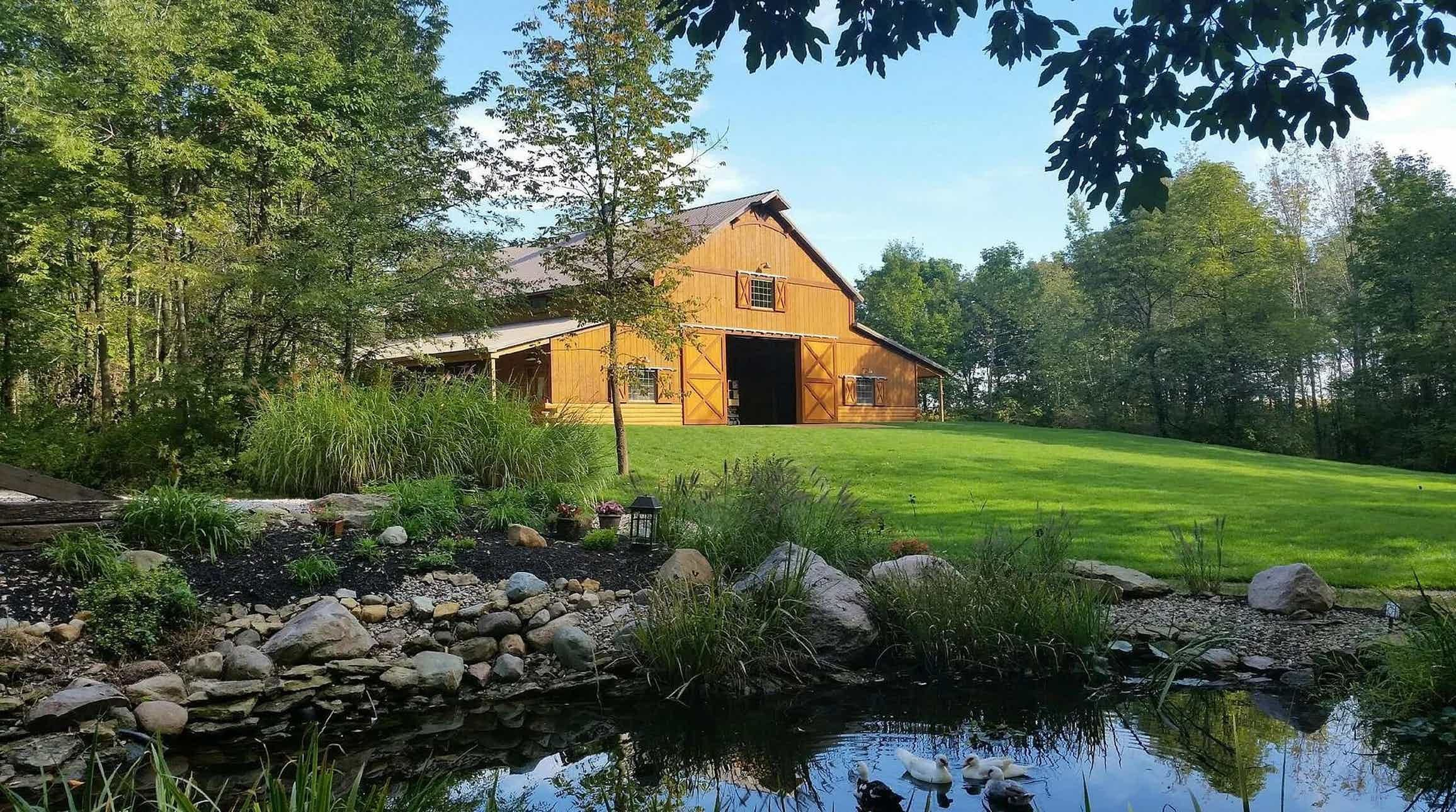 Hidden hollow farm indiana wedding venue crawfordsville in