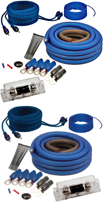 Amplifier Kits: Amplifier Kit 4-Gauge Amp Wire Wiring Install Auto ...