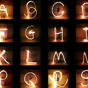 Letter Made Out Of Objects.30 Versions Of The Alphabet Made Out Of Objects Or Surroundings