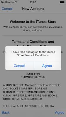Create Apple Id Agree Tech Inspiration Itunes