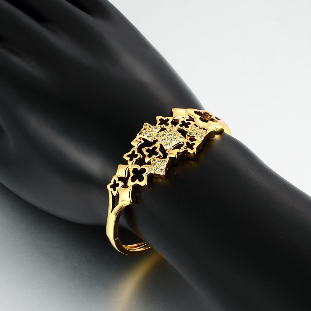 Bracelets for women karat zircon personal pattern gold bracelet