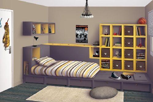 Rangement Decoration Chambre Ado