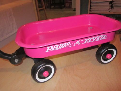 1524d0c266301 PINK Mini Radio Flyer Little Red Wagon rare limited edition | My ...