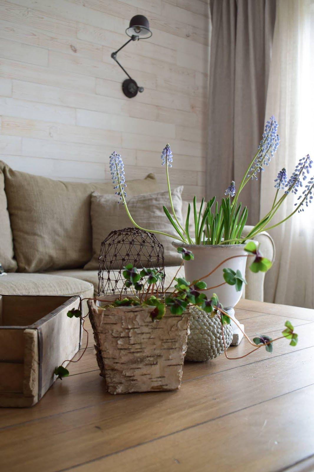 Wohnzimmer Tischdeko Dekoidee Deko Dekoration Frühling