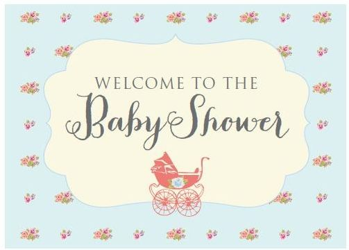 Vintage Baby Shower Free Printables | More Vintage baby showers ...