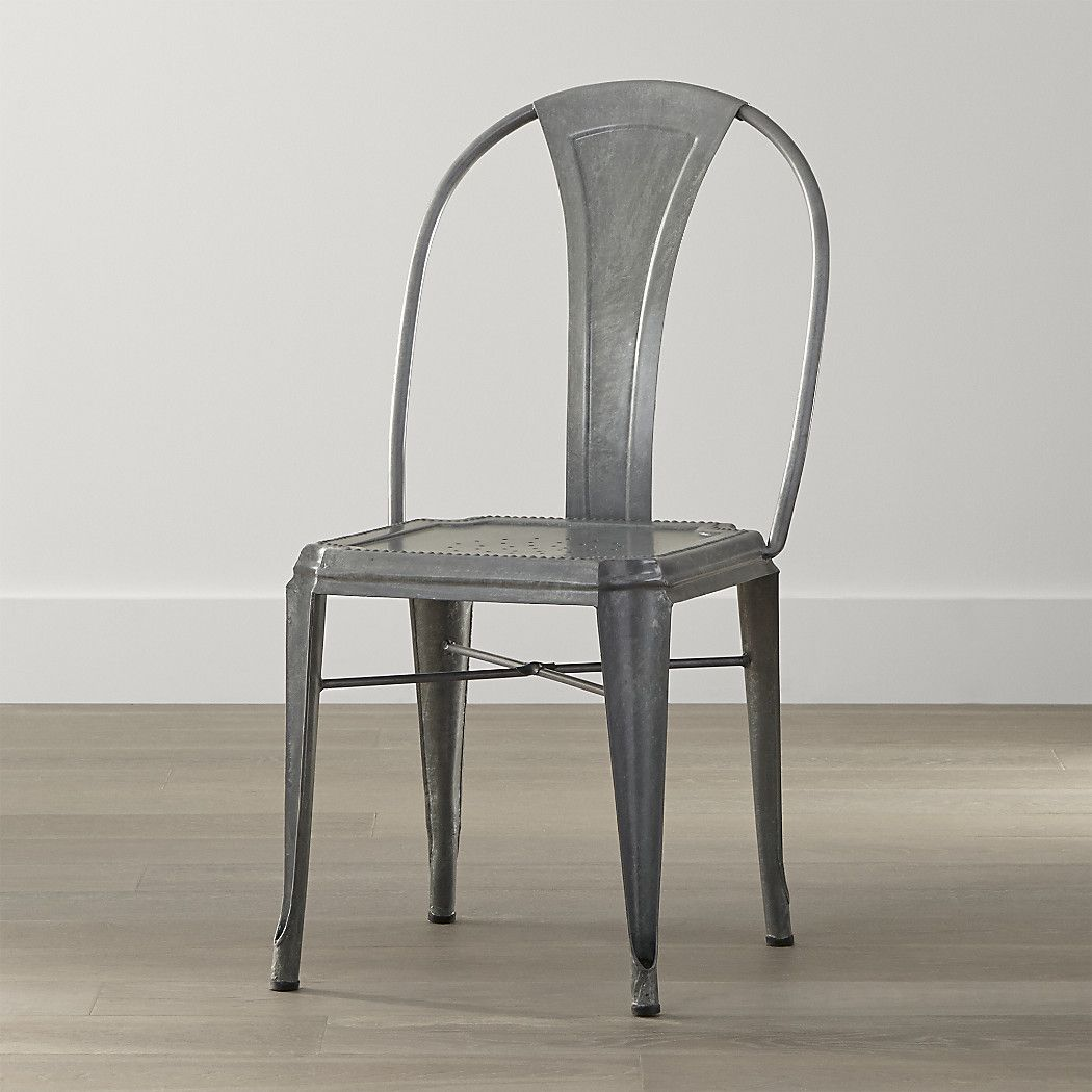 Lyle Metal Dining Chair Reviews Crate And Barrel Metal Dining Chairs Metal Dining Room Dining Chairs