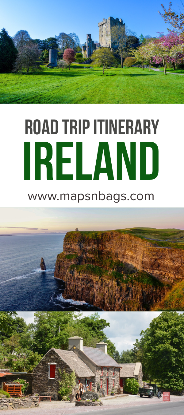 Perfect Ireland Road Trip Itinerary  #irelandtravel