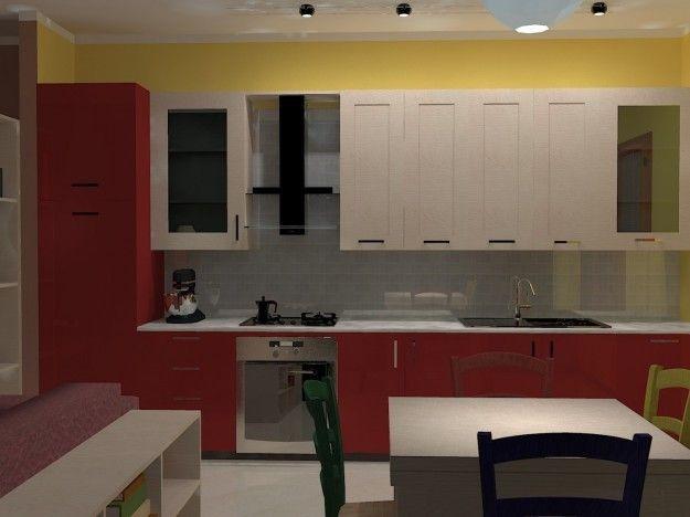 Parete Della Cucina : Idee per le pareti della cucina parete gialla cuisine and kitchens