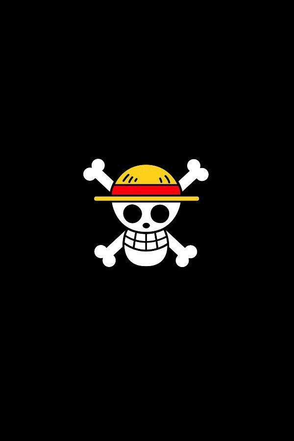One piece anime HD wallpaper for iPhone.