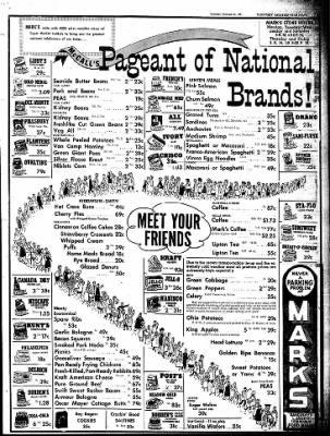 Salvatore Viviano Macaroni Co. Vimco Carnegie, PA Vintage Spaghetti, Pasta, Macaroni, Ad, Advertising