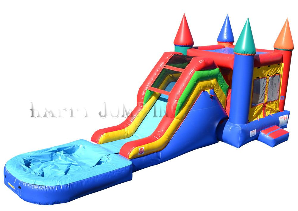 backyard jump slide with pool bounce house for sale jumpers for rh pinterest it