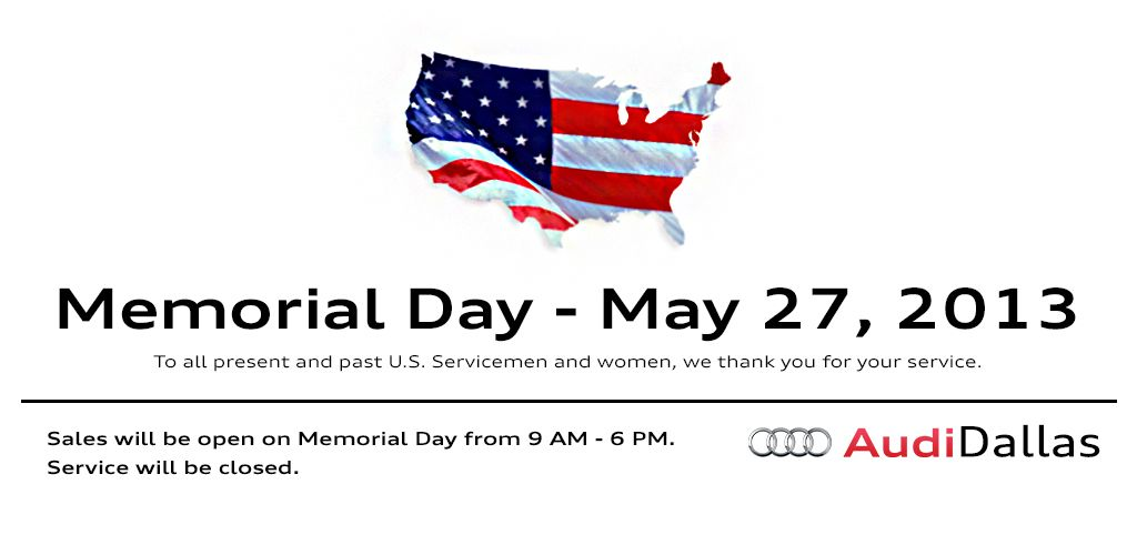 Audi Dallas Memorial Day Sale Is Going On This Weekend Audidallas Audilife Used Audi Audi Audi Cars