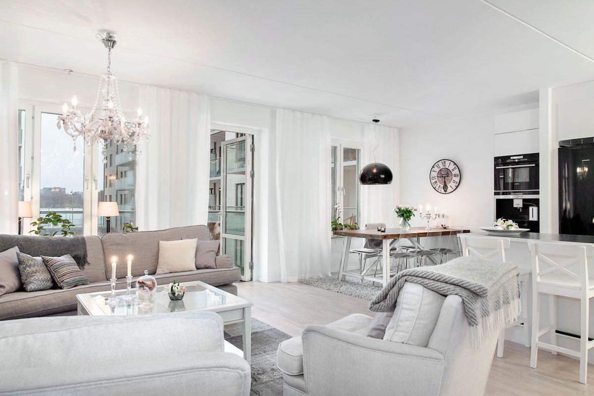 Wpis Subtelna Mieszanka W Jednym Mieszkaniu Czyli Jak Polaczyc Styl Modern Furniture Living Room Beautiful Living Rooms Small Living Rooms