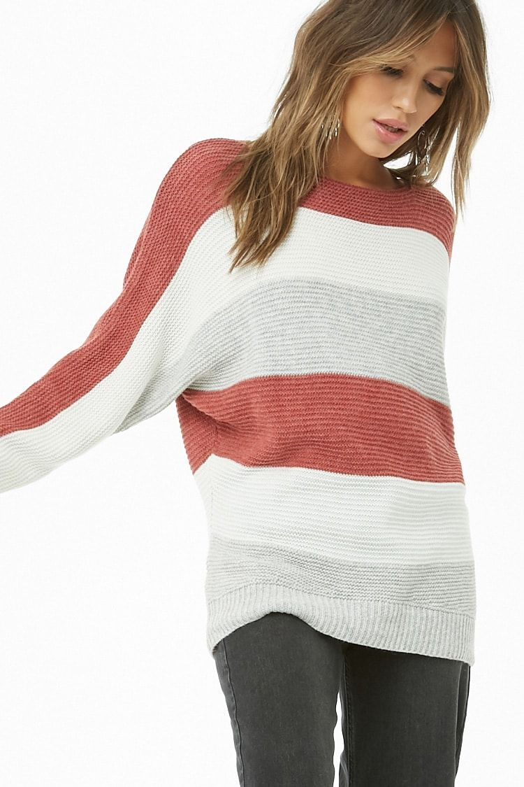 a362a86fba Ribbed Colorblock Sweater