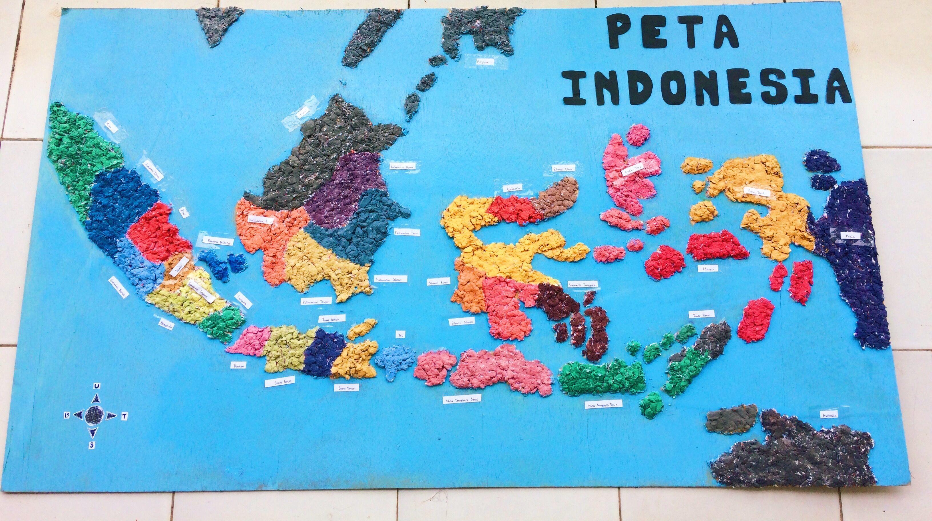Peta Indonesia dan Berbagai Keragaman di Dalamnya Peta