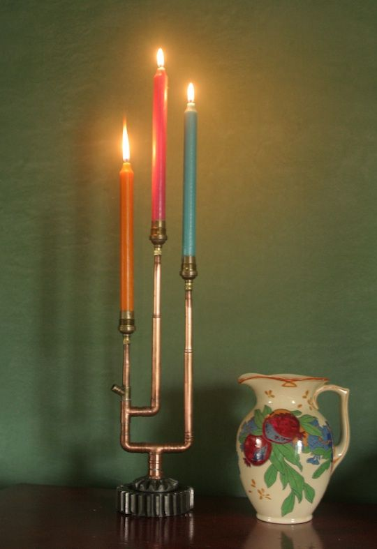 Candlesticks with a twist