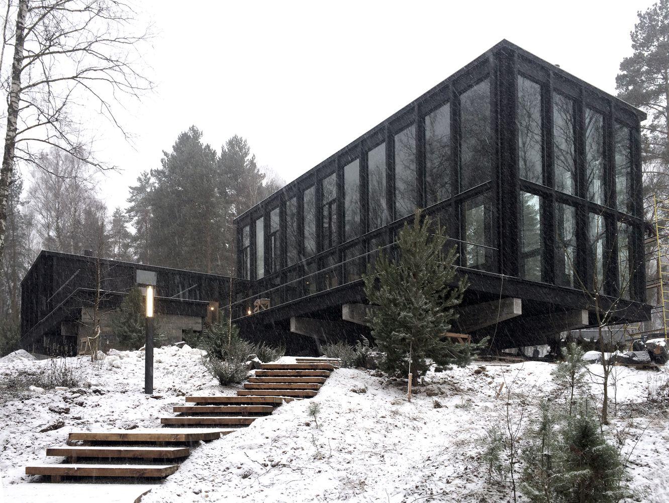 Gallery of guest bath house fas t architectural bureau