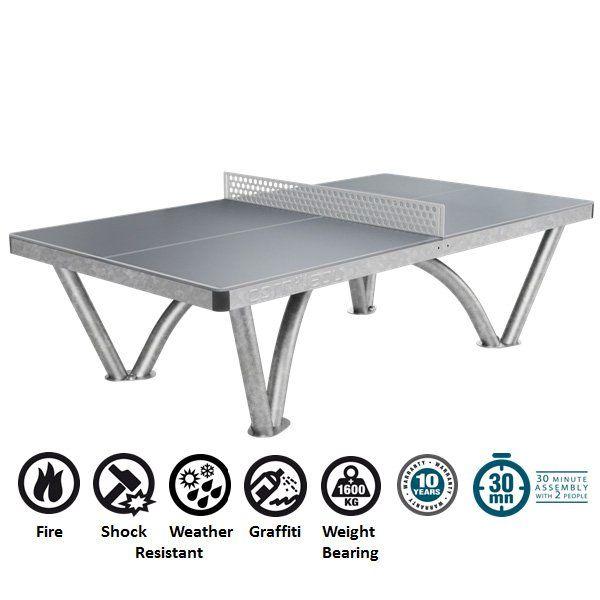 Cornilleau Pro Park Outdoor Table Tennis Table Tenisnij