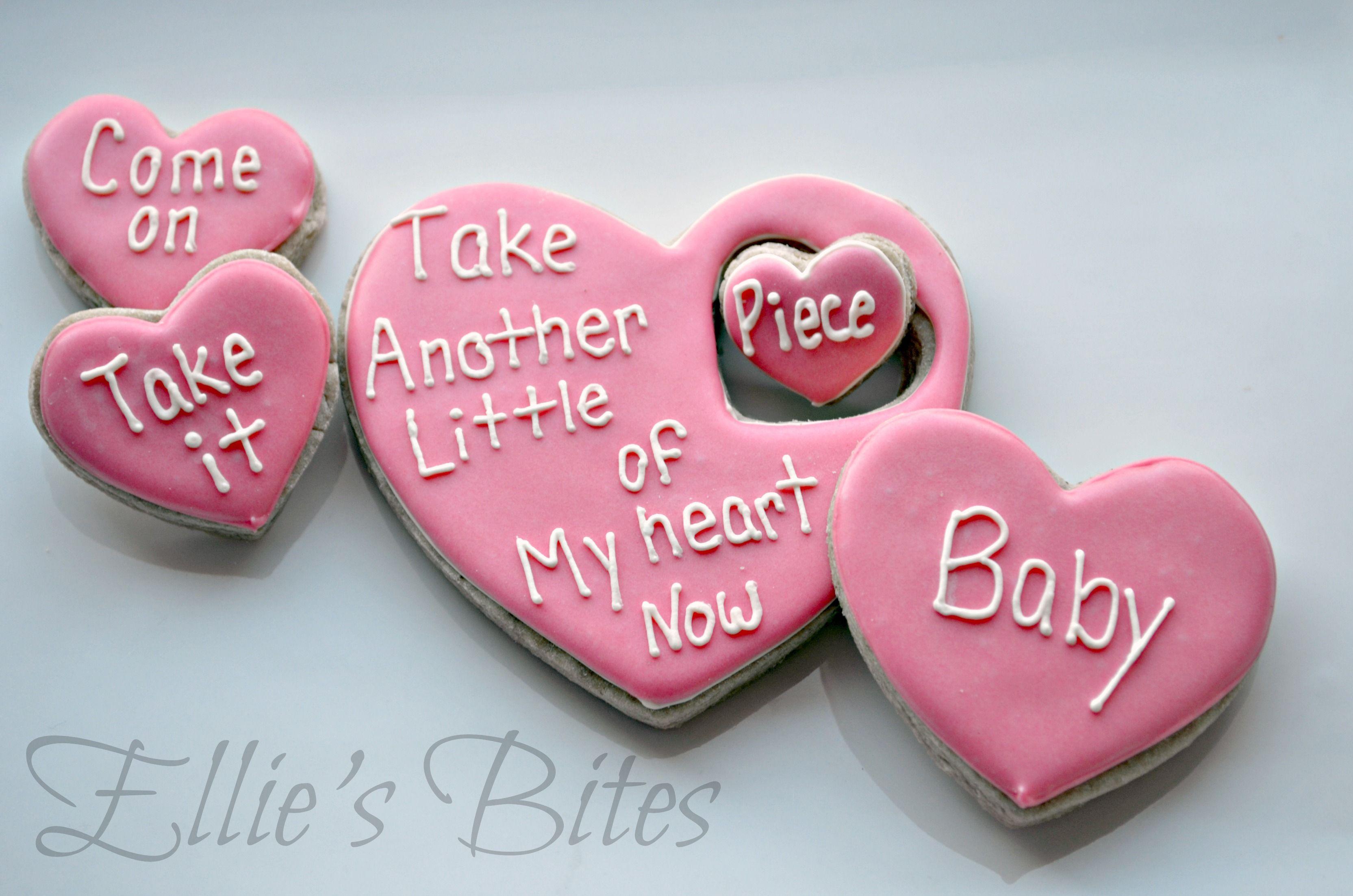 love song cookies