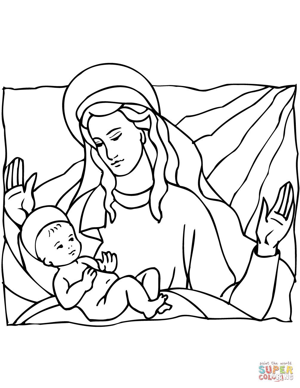 Baby Jesus Coloring Page Awesome Baby Jesus Coloring Pages Gerrydraaisma Jesus Coloring Pages Free Christmas Coloring Pages Christmas Coloring Pages