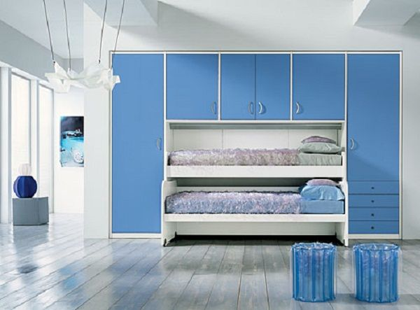 Outstanding Bunk Beds In Small Spaces Images - Best idea home ...