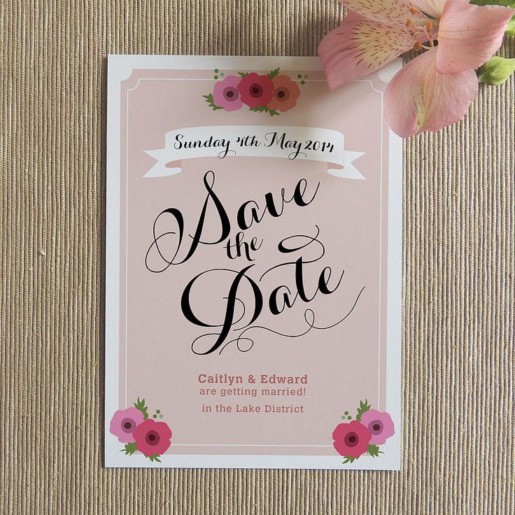 Great Creative Save the Date Card Ideas