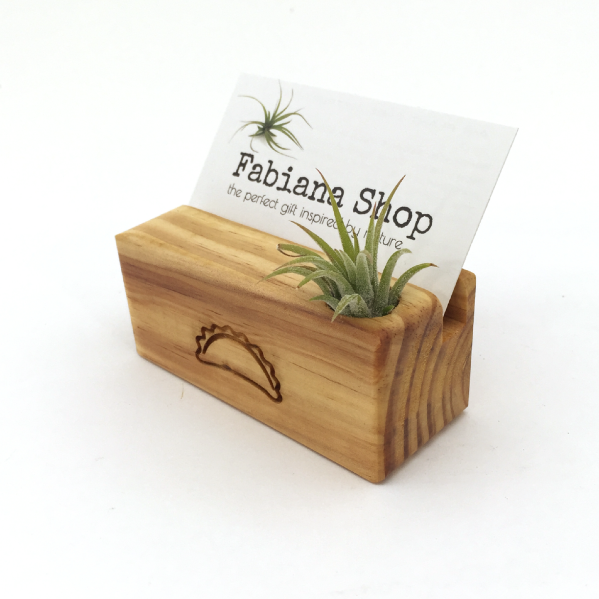 Business card holder with company logo or name. | Business card ...
