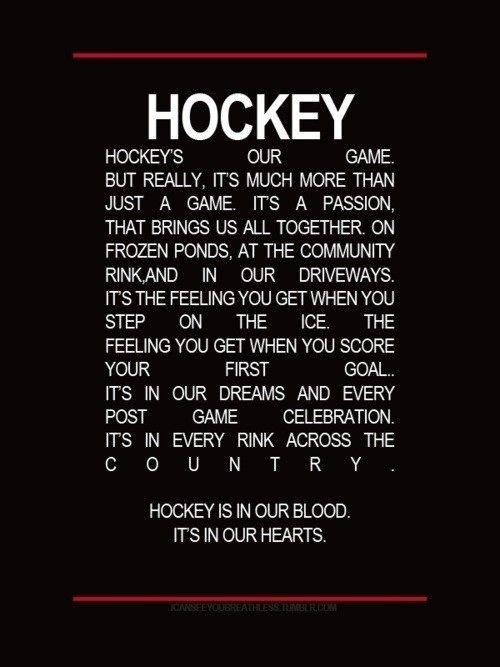Hockey Moments On Hockey Quotes Hockey Blackhawks Hockey