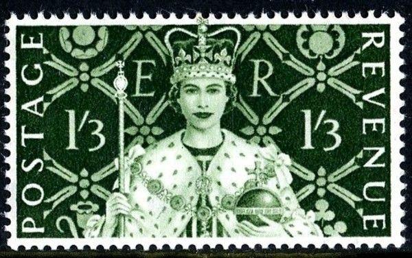 1953 Coronation 1s 3d
