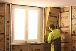 Isolation Des Murs Par L Interieur Avec Le Systeme Optima Isover Isolation Mur Isolation Mur