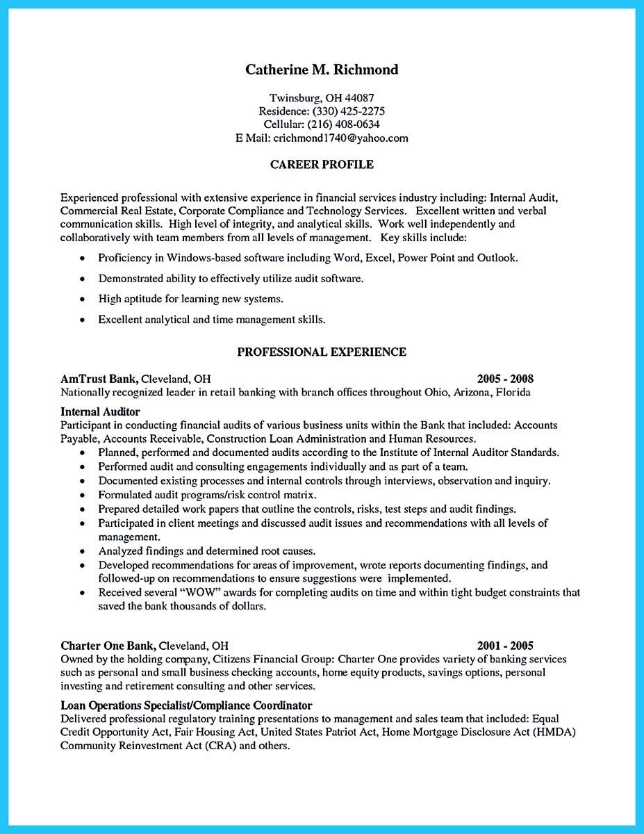 Auditor Resume Sample Fair Cool Making A Concise Credential Audit Resume  Resume Template .