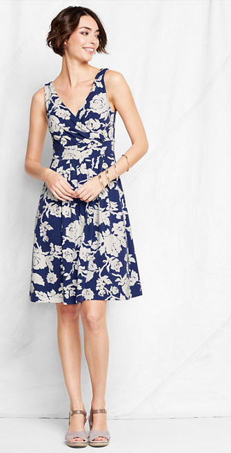 ada6da116f8 Wedding Guest Outfit  Pattern Fit + Flare Dress