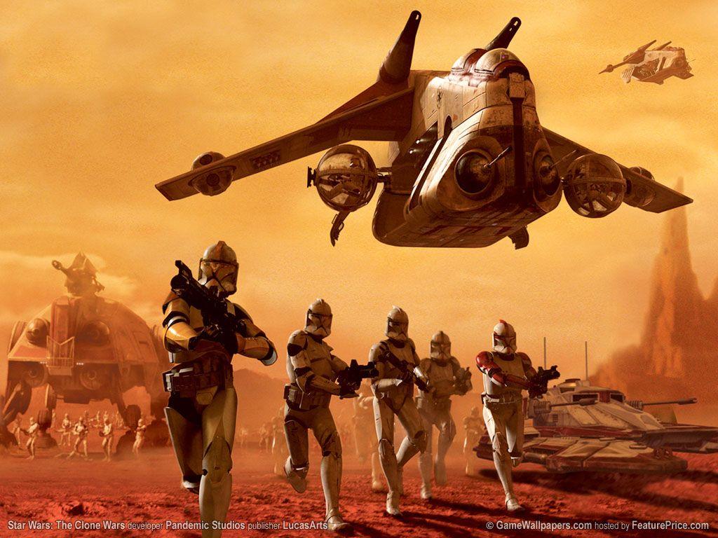 Скачать игру star wars war clone